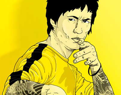 Bruce Lee Fan Art