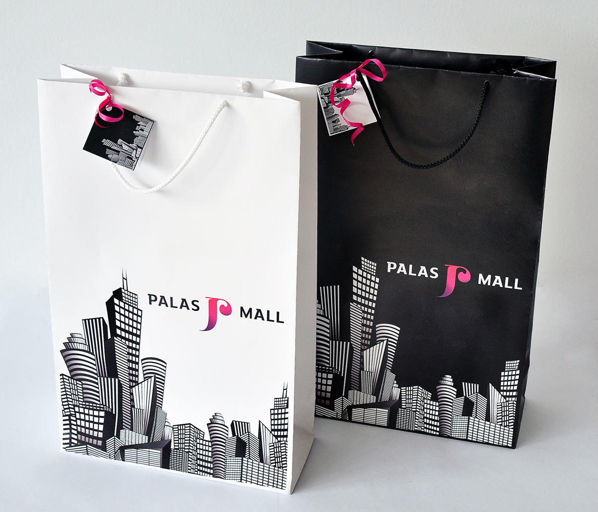 Shopping Bag Design for Palas Mall - Iasi, Romania