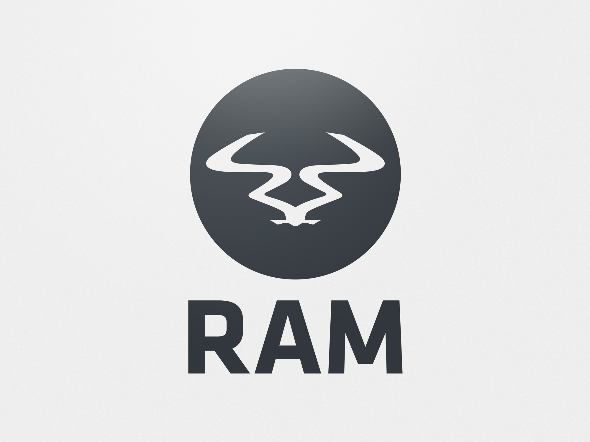Ram Records Logo Restyling