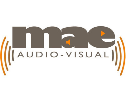 MAE Audio-visual - Logo Design