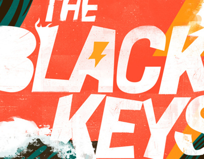 The Black Keys Hangout Music Festival Poster