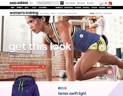adidas Womens Training Experience