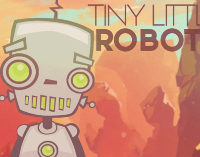 Tiny Little Robots EP Cover