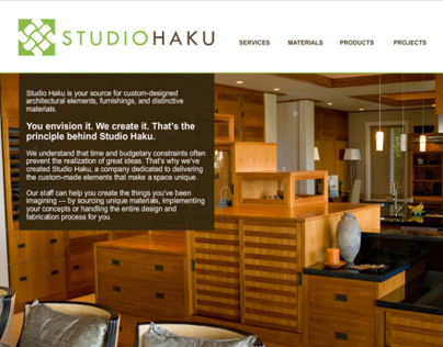 Studio Haku Website