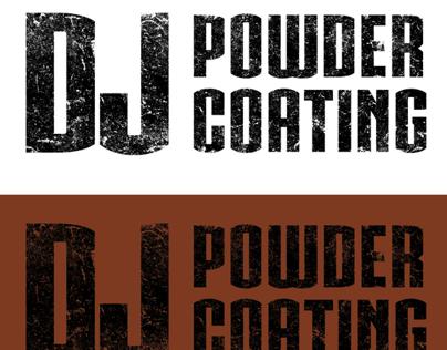 DJ Powder Coating - Logo Redesign