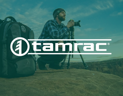 Tamrac Website Redesign