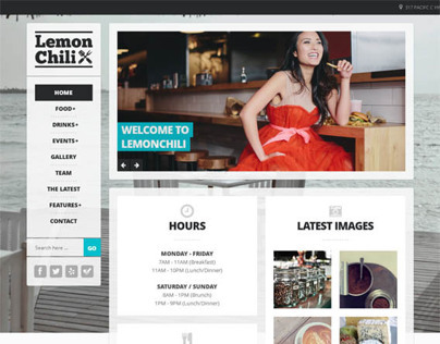 LemonChili, Premium Restaurant WordPress Theme