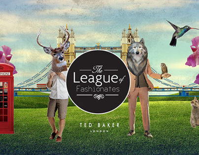 Integrated Campaign: Ted Baker League of Fashionates