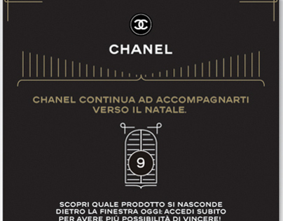 Advent Calender for CHANEL
