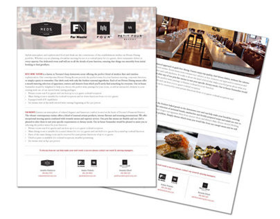 Signature Group Event Packages