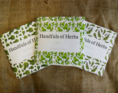 Handfuls of Herbs Cookbook - Final Major Project