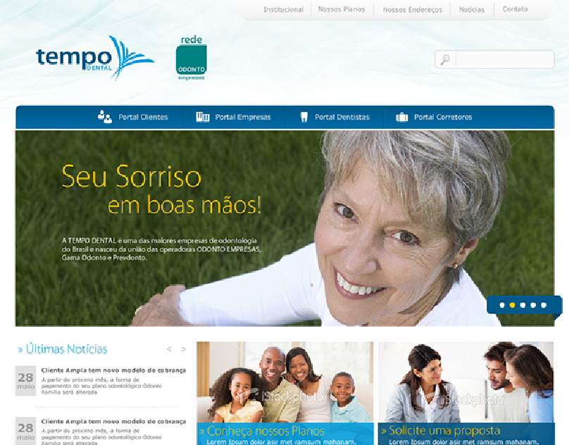 Site Tempo Dental