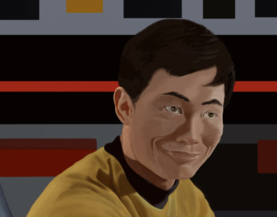 George Takei Digital Painting