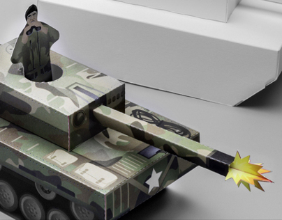 *KA-BOOM* Paper Tanks