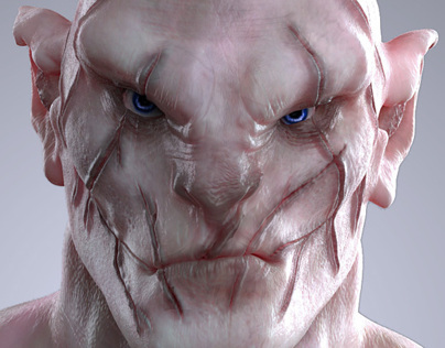 Azog | The Hobbit | Character Creation