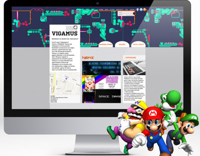 VIGAMUS - VIDEO GAMES MUSEUM - Restyling of the website