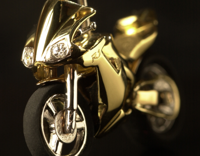 Miniature Replica Gold  R1 YZF Yamaha, Fully functional