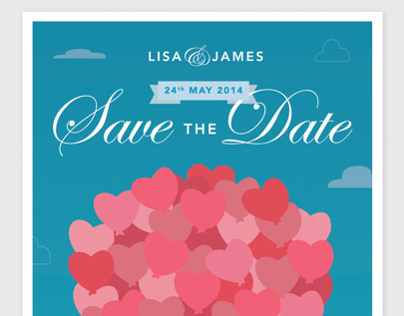 Lisa & James - Save the Dates