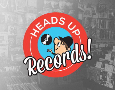 Heads Up Records - Shirt/Tank Design