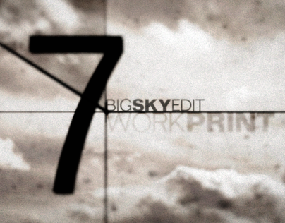 Big Sky Edit • Film Leader Countdown