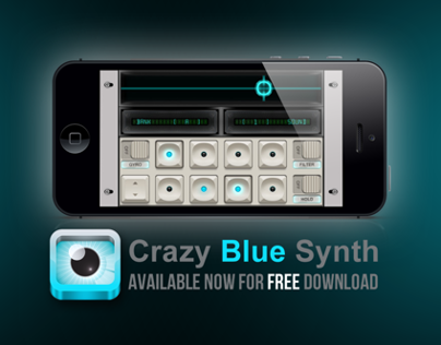 Crazy Blue Synth @ App Store