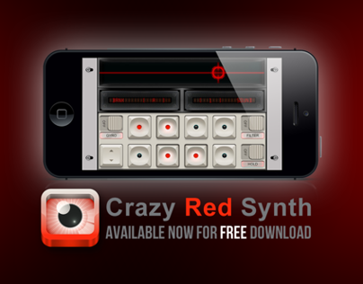 Crazy Red Synth @ App Store