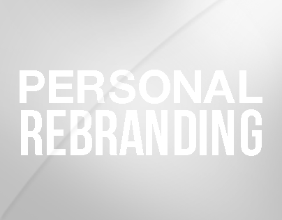 Personal Rebranding Project
