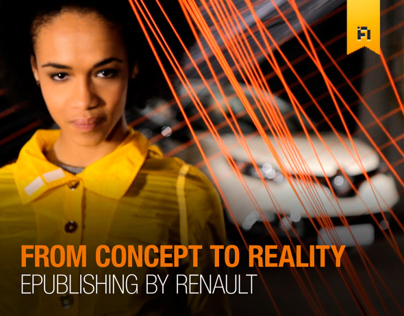 Renault Captur E-Publishing app - 2013