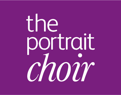 The Portrait Choir identity
