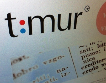 TimurTV Branding, Website (2012)