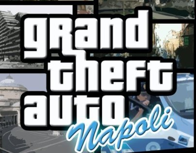 Fake cover Grand Theft Auto Napoli
