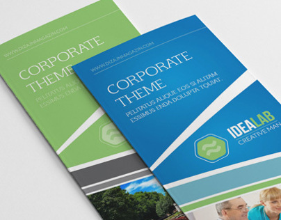 Modern Multiuse Business 3-fold Brochure
