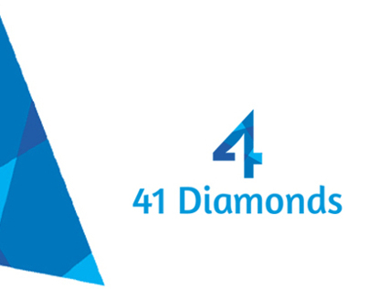 Identity Design For 41 Diamonds