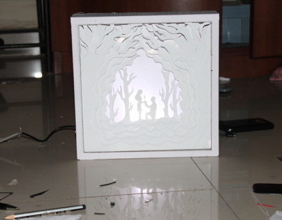 Paper Art makes a Magical result