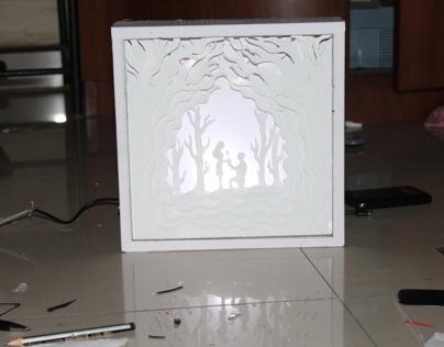 Paper Art makes a Magical result