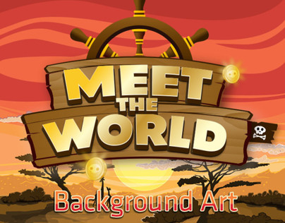 Meet the world - Backgrounds Art