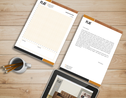 Flat Furniture Corporate Identity