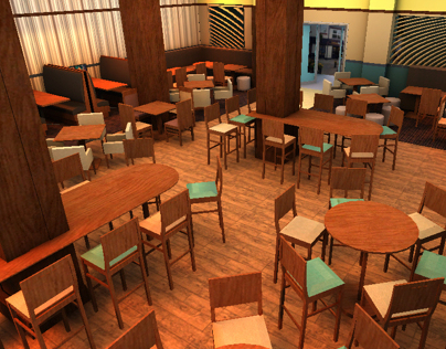 Bar Development 3D visualization