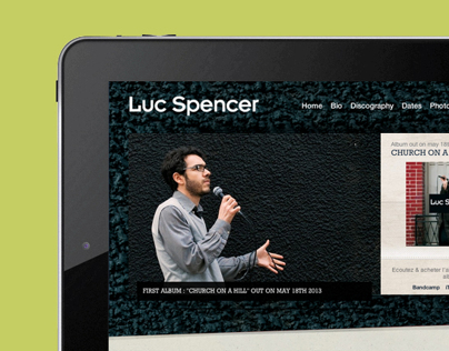 Website Luc Spencer