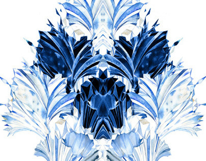 Frozen Kingdom. Textile Design