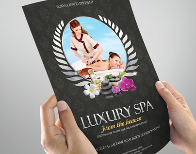 Luxury Spa Flyer