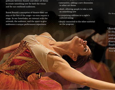 Bated Breath Theatre - Interludes Brochure