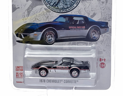 1978 Corvette Pace Car Packaging