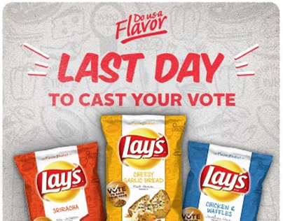 Lays: Do Us A Flavor Digital