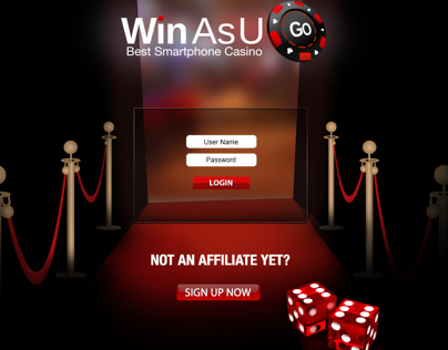 Login page for Winasugo