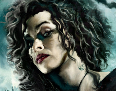 HARRY POTTER Portrait: Bellatrix Lastrange