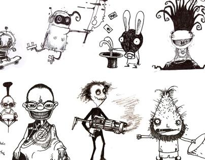 My spooky friends