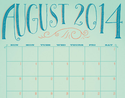 Hand-drawn Calendar