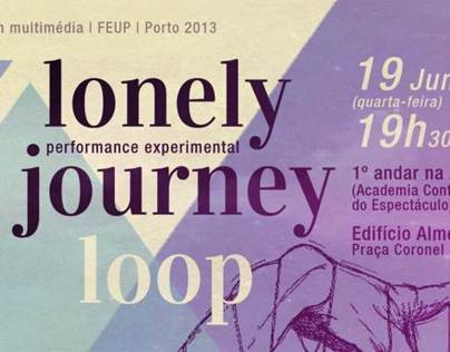 Poster - Lonely Journy Loop