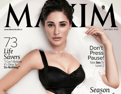 MAXIM India July 2013 - Nargis Fakhri